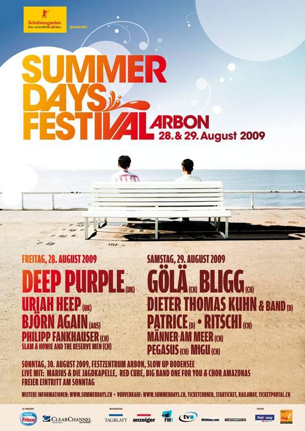 Plakat Summerdays Festival 2009