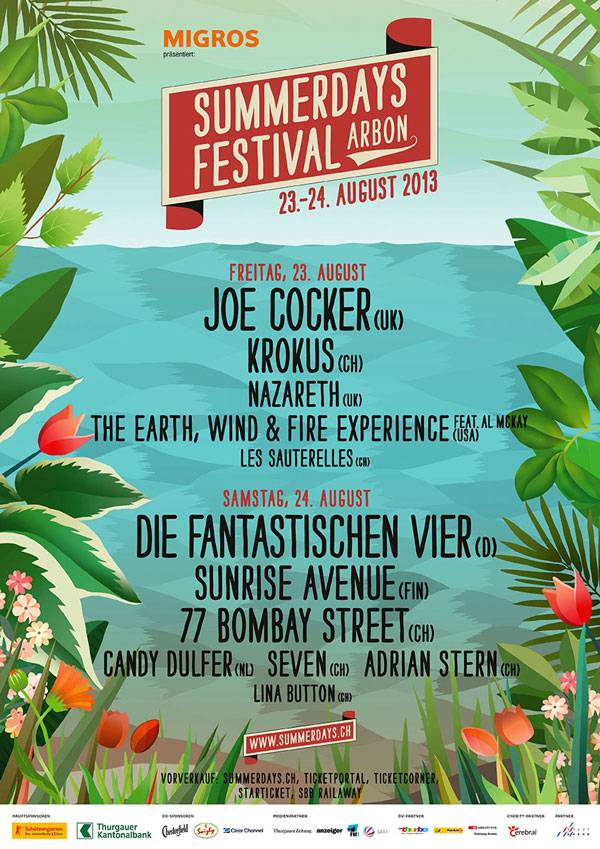 Plakat Summerdays Festival 2013