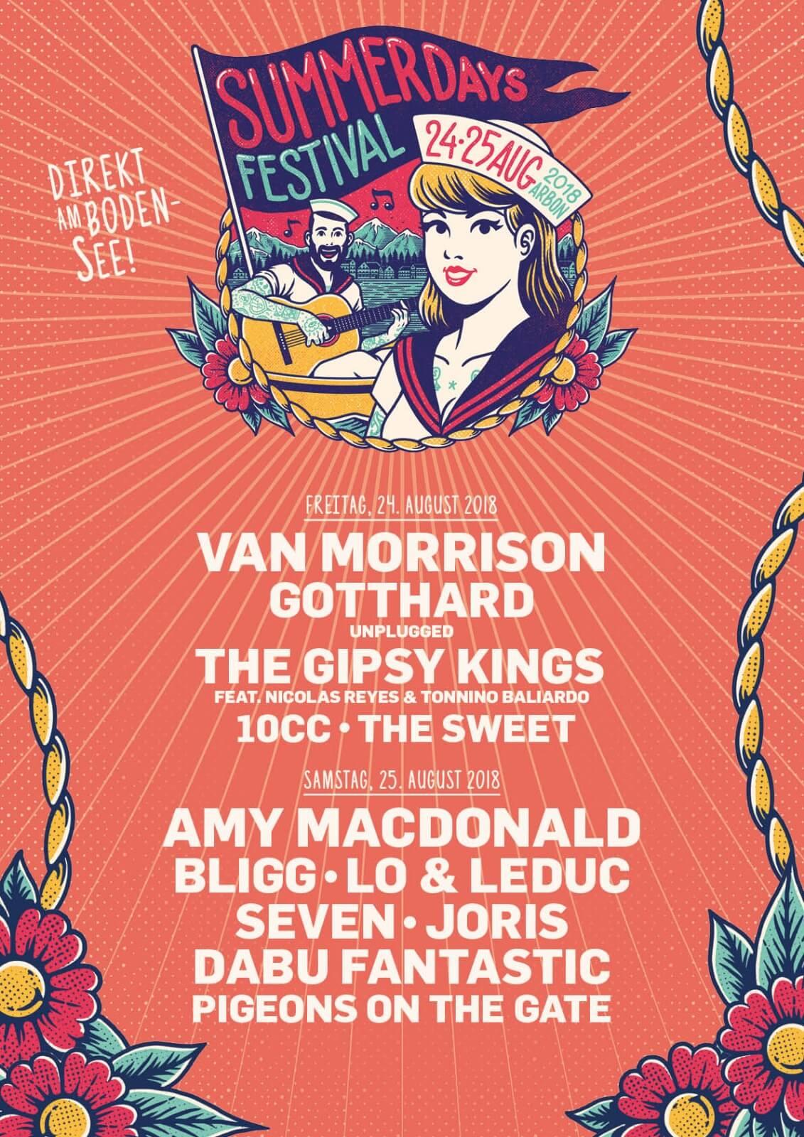 Plakat Summerdays Festival 2018